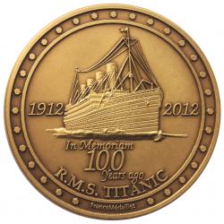 Médaille commérorative TITANIC