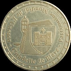 Médaille Blaye Citadelle