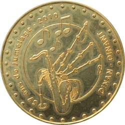 Médaille Dinant-Dinan