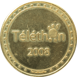 Médaille Téléthon 2008 /...