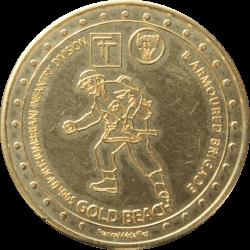 Médaille Gold Beach