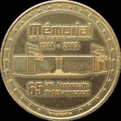 Médaille Mémorial de Caen