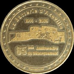 Médaille Batterie d'Azeville
