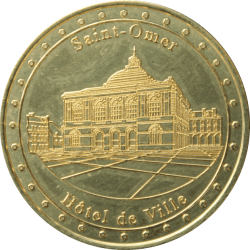 Médaille St-Omer Hôtel de...