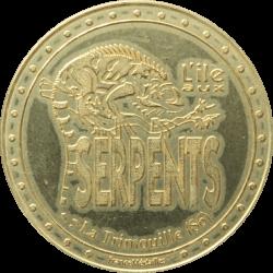 Médaille Vert Marine - Île...