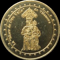Médaille Villeneuve en Capcir