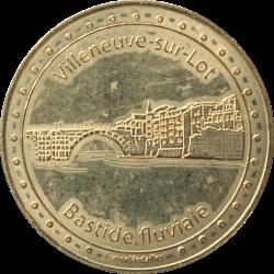 Médaille Villeneuve sur Lot